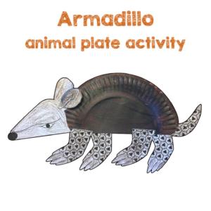 Armadillo Plate Activity