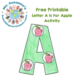 A is for Apple Activity