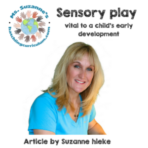 Sensory play as part of child's early development